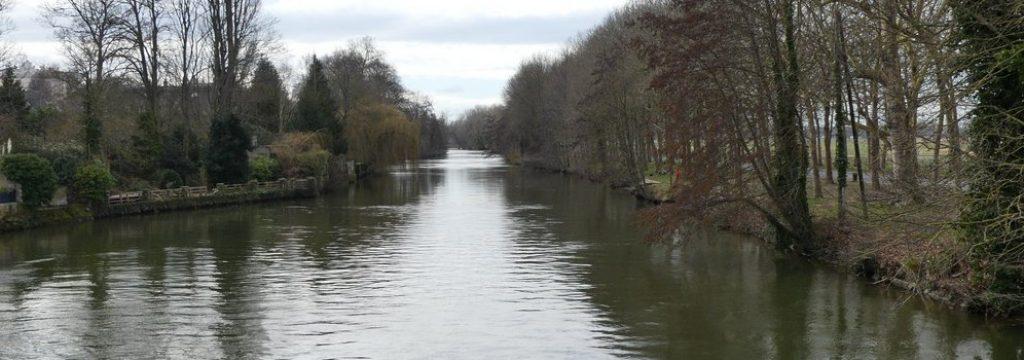 Parcours de pêche sur Caen-Prairie