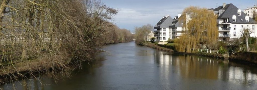 Parcours de pêche sur Caen au Cours Caffarelli
