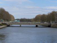 parcours peche caen centre pont de vaucelles